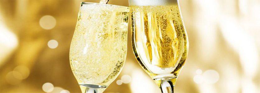 Champagne, prosecco, espumante cap